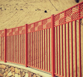 ornamental metal fences