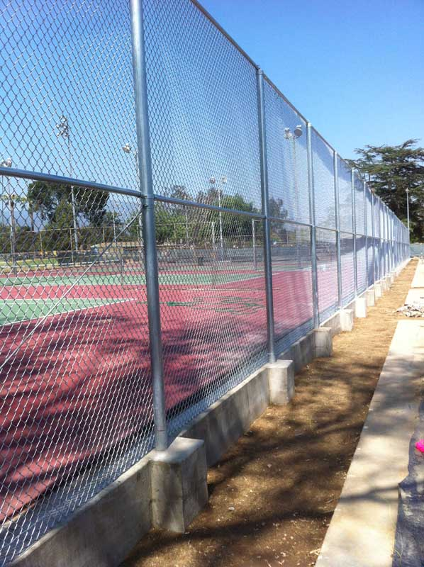 chain link fence los angeles