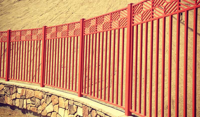 wrought iron fence los angeles