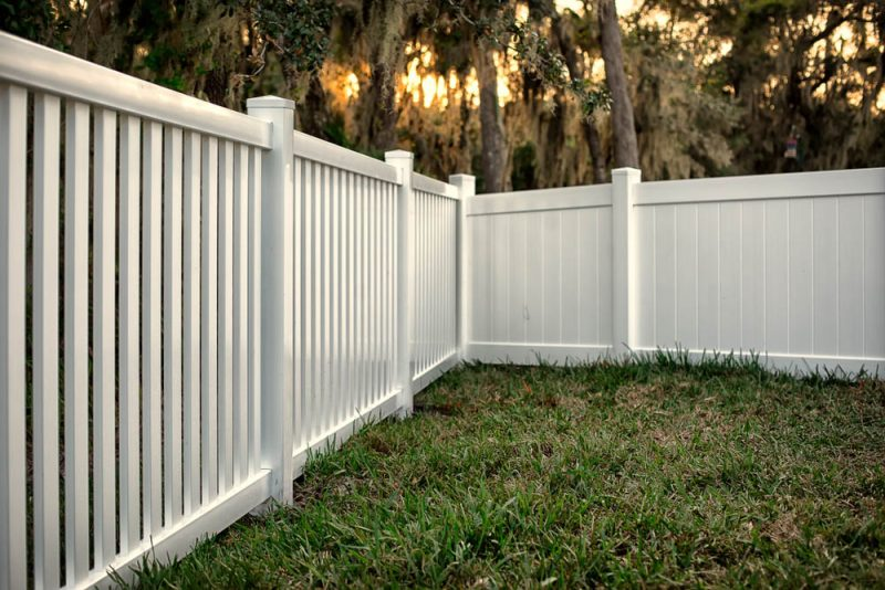 quality vinyl fencing in los angeles